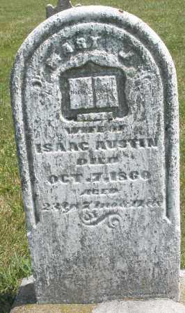 AUSTIN, ISAAC - Montgomery County, Ohio | ISAAC AUSTIN - Ohio Gravestone Photos