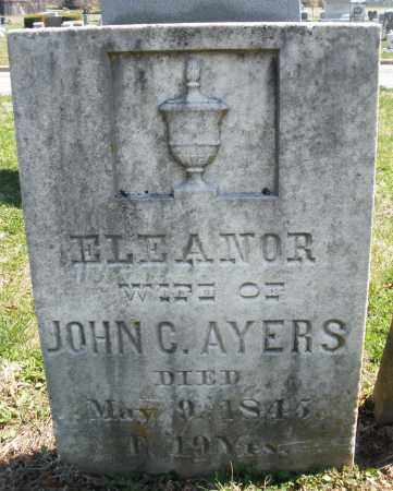 AYERS, ELEANOR - Montgomery County, Ohio | ELEANOR AYERS - Ohio Gravestone Photos