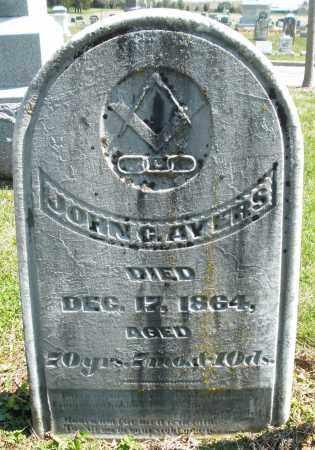 AYERS, JOHN C. - Montgomery County, Ohio | JOHN C. AYERS - Ohio Gravestone Photos