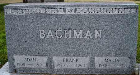 BACHMAN, MAUDE - Montgomery County, Ohio | MAUDE BACHMAN - Ohio Gravestone Photos