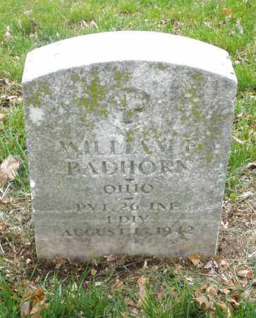 BADHORN, WILLIAM - Montgomery County, Ohio | WILLIAM BADHORN - Ohio Gravestone Photos