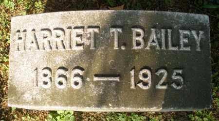BAILEY, HARRIET T. - Montgomery County, Ohio | HARRIET T. BAILEY - Ohio Gravestone Photos