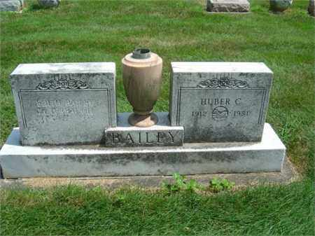 BAILEY, HUBER - Montgomery County, Ohio | HUBER BAILEY - Ohio Gravestone Photos