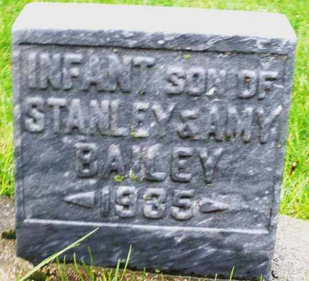 BAILEY, INFANT SON - Montgomery County, Ohio | INFANT SON BAILEY - Ohio Gravestone Photos