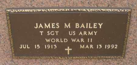 BAILEY, JAMES M. - Montgomery County, Ohio | JAMES M. BAILEY - Ohio Gravestone Photos