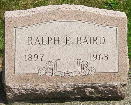 BAIRD, RALPH - Montgomery County, Ohio | RALPH BAIRD - Ohio Gravestone Photos
