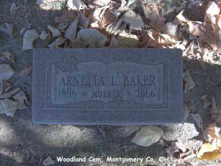 BAKER, ARNETTA - Montgomery County, Ohio | ARNETTA BAKER - Ohio Gravestone Photos