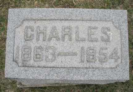 BAKER, CHARLES - Montgomery County, Ohio | CHARLES BAKER - Ohio Gravestone Photos