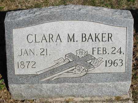 BAKER, CLARA M. - Montgomery County, Ohio | CLARA M. BAKER - Ohio Gravestone Photos