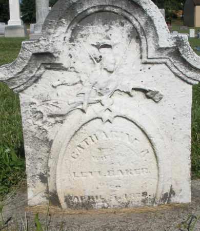 BAKER, CATHARINE - Montgomery County, Ohio   CATHARINE BAKER - Ohio Gravestone Photos