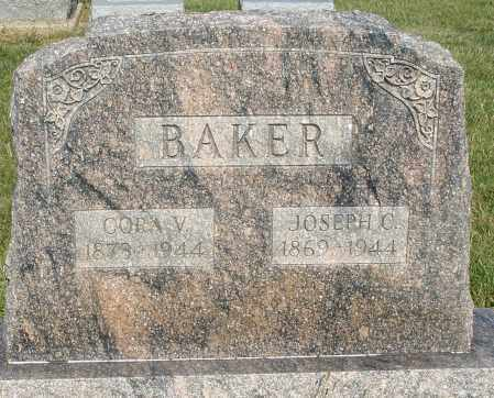 BAKER, JOSEPH C. - Montgomery County, Ohio | JOSEPH C. BAKER - Ohio Gravestone Photos
