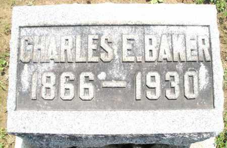 BAKER, CHARLES E. - Montgomery County, Ohio | CHARLES E. BAKER - Ohio Gravestone Photos