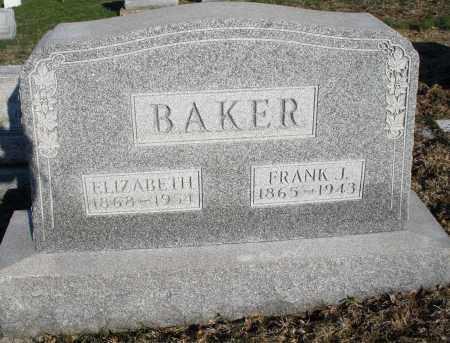 BAKER, FRANK J. - Montgomery County, Ohio | FRANK J. BAKER - Ohio Gravestone Photos