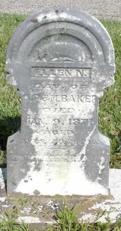 BAKER, ELLEN N. - Montgomery County, Ohio | ELLEN N. BAKER - Ohio Gravestone Photos
