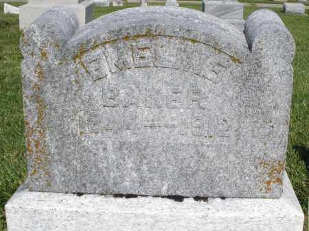 BAKER, EMELINE - Montgomery County, Ohio | EMELINE BAKER - Ohio Gravestone Photos
