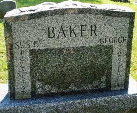 BAKER, GEORGE - Montgomery County, Ohio | GEORGE BAKER - Ohio Gravestone Photos