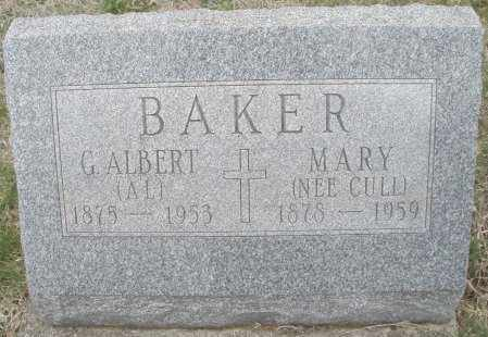 CULL BAKER, MARY - Montgomery County, Ohio | MARY CULL BAKER - Ohio Gravestone Photos