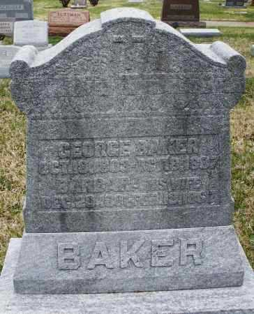 BAKER, GEORGE - Montgomery County, Ohio | GEORGE BAKER - Ohio Gravestone Photos