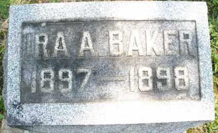 BAKER, IRA A. - Montgomery County, Ohio | IRA A. BAKER - Ohio Gravestone Photos