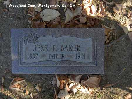 BAKER, JESS - Montgomery County, Ohio | JESS BAKER - Ohio Gravestone Photos