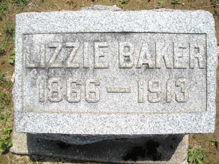 BAKER, LIZZIE - Montgomery County, Ohio | LIZZIE BAKER - Ohio Gravestone Photos