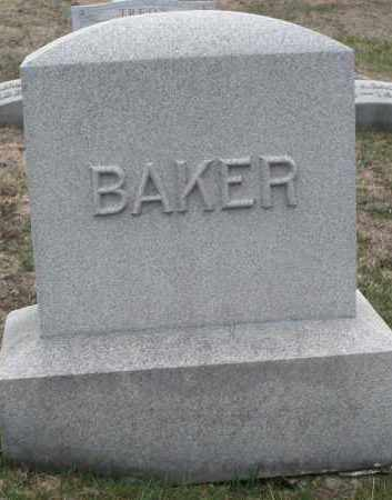 BAKER, MONUMENT - Montgomery County, Ohio | MONUMENT BAKER - Ohio Gravestone Photos