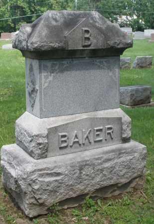 BAKER, MONUMENT - Montgomery County, Ohio | MONUMENT BAKER - Ohio Gravestone Photos