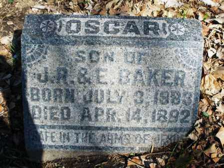 BAKER, OSCAR - Montgomery County, Ohio | OSCAR BAKER - Ohio Gravestone Photos