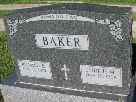 BAKER, RONALD E. - Montgomery County, Ohio | RONALD E. BAKER - Ohio Gravestone Photos