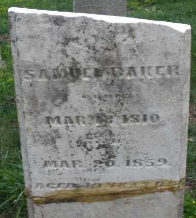 BAKER, SAMUEL - Montgomery County, Ohio | SAMUEL BAKER - Ohio Gravestone Photos