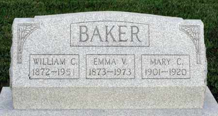 BAKER, WILLIAM C. - Montgomery County, Ohio | WILLIAM C. BAKER - Ohio Gravestone Photos
