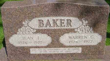 BAKER, WARREN - Montgomery County, Ohio | WARREN BAKER - Ohio Gravestone Photos