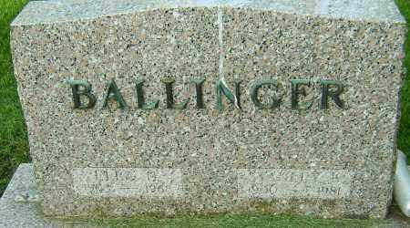 BALLINGER, STANLEY K - Montgomery County, Ohio | STANLEY K BALLINGER - Ohio Gravestone Photos