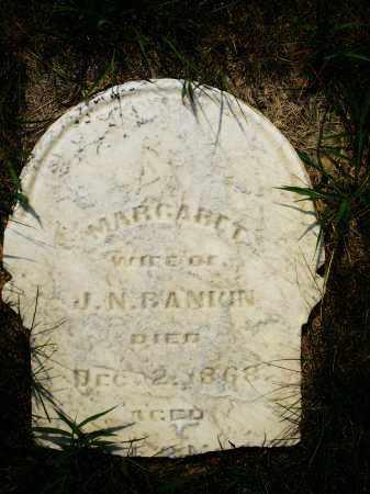 BANIUN, MARGARET - Montgomery County, Ohio   MARGARET BANIUN - Ohio Gravestone Photos