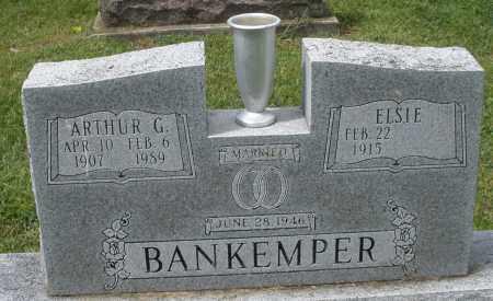 BANKEMPER, ARTHUR G. - Montgomery County, Ohio | ARTHUR G. BANKEMPER - Ohio Gravestone Photos