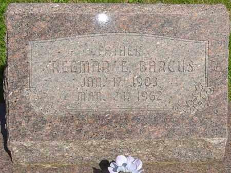 BARCUS, FREEMAN - Montgomery County, Ohio   FREEMAN BARCUS - Ohio Gravestone Photos