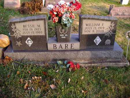 WILLIS BARE, BESSIE M. - Montgomery County, Ohio | BESSIE M. WILLIS BARE - Ohio Gravestone Photos