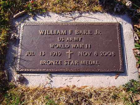 BARE, WILLIAM F., JR. - Montgomery County, Ohio | WILLIAM F., JR. BARE - Ohio Gravestone Photos