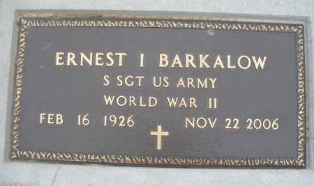 BARKALOW, ERNEST - Montgomery County, Ohio | ERNEST BARKALOW - Ohio Gravestone Photos
