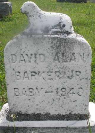 BARKER, DAVID ALAN JR. - Montgomery County, Ohio | DAVID ALAN JR. BARKER - Ohio Gravestone Photos