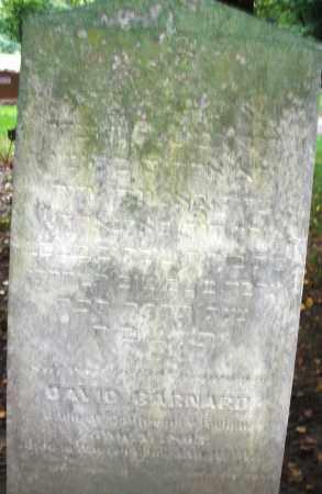 BARNARD, DAVID - Montgomery County, Ohio | DAVID BARNARD - Ohio Gravestone Photos