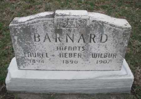 BARNARD, HEBER INFANT - Montgomery County, Ohio | HEBER INFANT BARNARD - Ohio Gravestone Photos