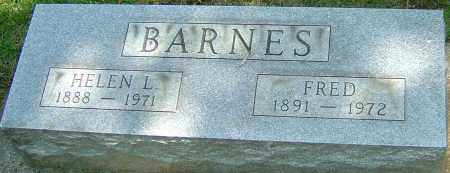 BARNES, FRED - Montgomery County, Ohio | FRED BARNES - Ohio Gravestone Photos