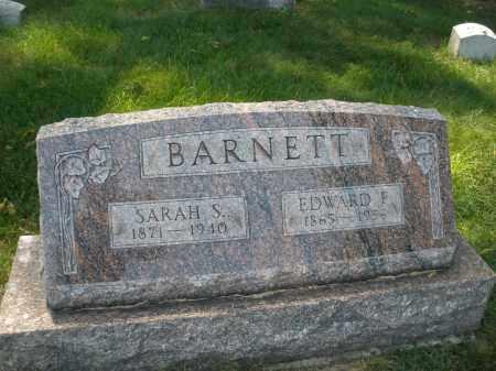 BARNETT, SARAH S. - Montgomery County, Ohio | SARAH S. BARNETT - Ohio Gravestone Photos