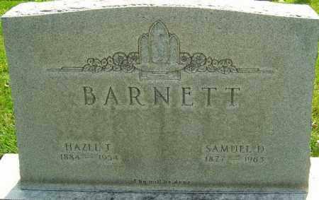 BARNETT, HAZEL - Montgomery County, Ohio | HAZEL BARNETT - Ohio Gravestone Photos