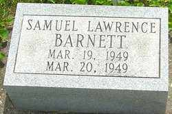 BARNETT, SAMUEL LAWRENCE - Montgomery County, Ohio | SAMUEL LAWRENCE BARNETT - Ohio Gravestone Photos