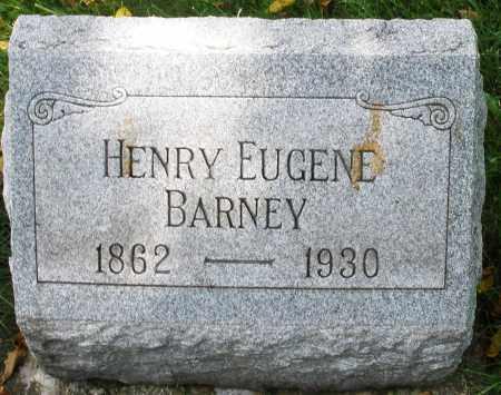 BARNEY, HENRY EUGENE - Montgomery County, Ohio | HENRY EUGENE BARNEY - Ohio Gravestone Photos