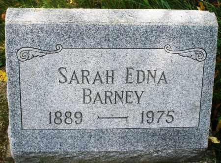 BARNEY, SARAH EDNA - Montgomery County, Ohio | SARAH EDNA BARNEY - Ohio Gravestone Photos