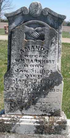 BARNHART, AMANDA - Montgomery County, Ohio | AMANDA BARNHART - Ohio Gravestone Photos