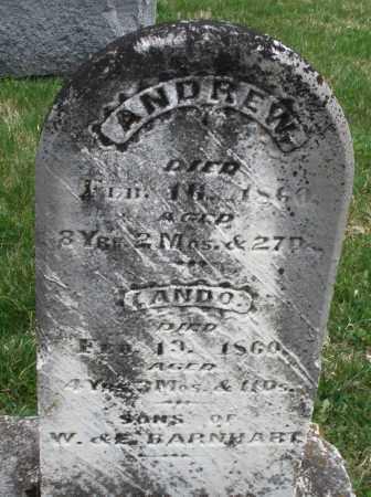 BARNHART, LANDO - Montgomery County, Ohio | LANDO BARNHART - Ohio Gravestone Photos